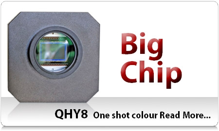 QHY8 One shot