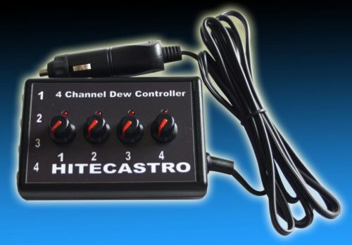 Four Channel PWM Dew Controller with 2x Power Outputs