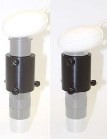 AC412 Super-lite eyepiece projection coupler for webcams