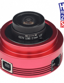ZWO ASI120MM Monochrome 1/3 CMOS USB2.0 Camera with Autoguider Port