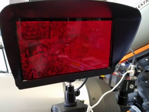 Revolution Imager RED shield for 7 inch monitor 2